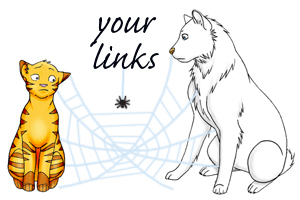 Links to pages relating to this Taenia tapeworm in cats life cycle page.